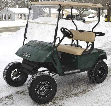 ez go jeep liberty trailer wiring diagram 36v electric lifted golf cart grasshopper edition with custom this luxurious rims tires offers you a stylish comfortable ride