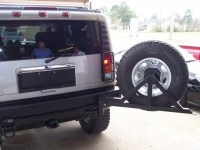 High Quality Hummer H2 Tire Carrier