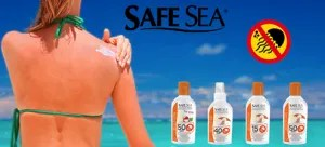 Jellyfish in Greece – safe sea lotion