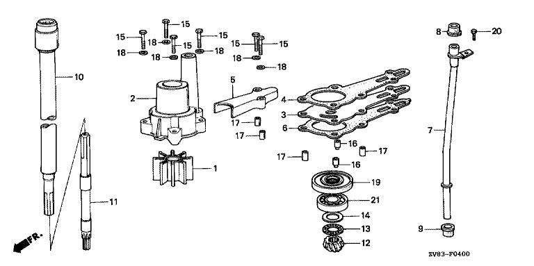 Honda, Mercury, Yamaha, Suzuki Marine Outboard Parts Malta