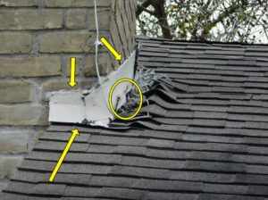 Inadequate flashing home inspection issue