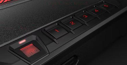 biometric gun safe for car