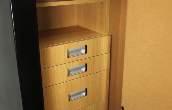 brown jewelry safes for home