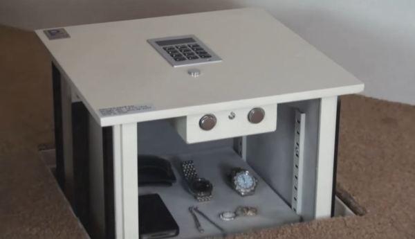 home floor safes