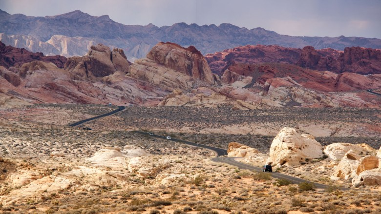 Mouse´s Tank Road im Valley of Fire State Park