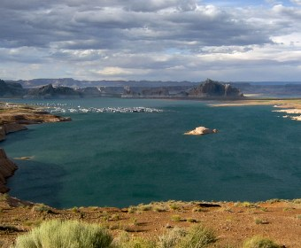 Lake Powell und Wahweap Marina