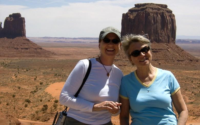 Monument Valley - der Blick vom Visitor Center
