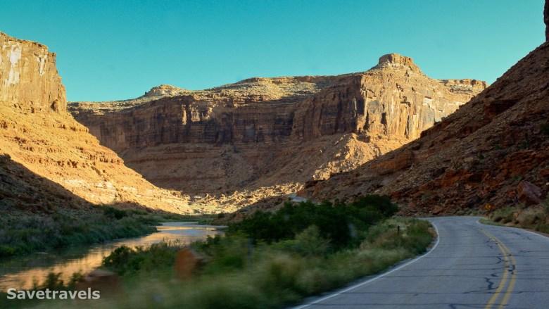 Highway 128 am Colorado River
