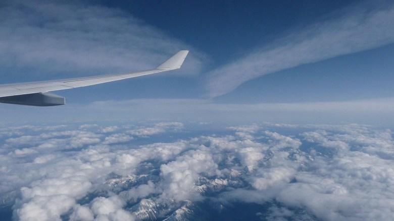 Entspannt fliegen und den Ausblick genießen