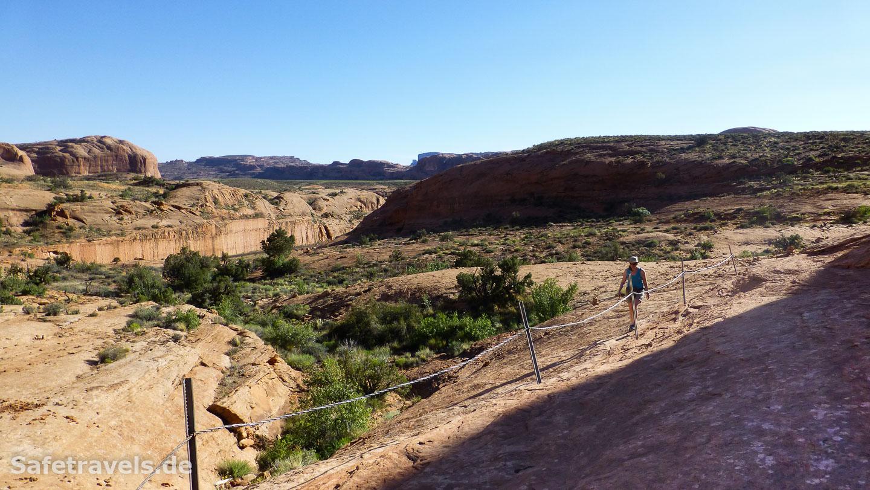 Slickrock Trail zum Corona Arch