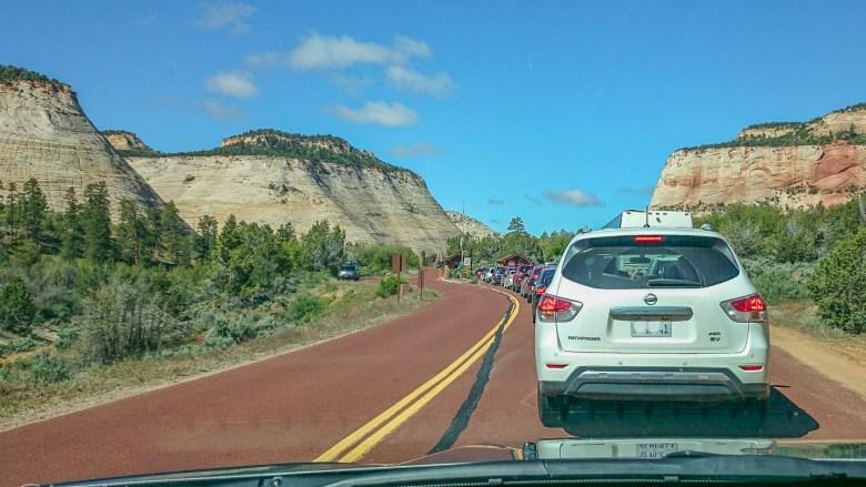 Osteinfahrt zum Zion National Park
