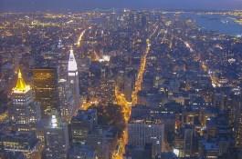 Manhattans Süden und Flatiron Building
