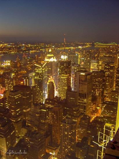 Blick zum Times Square