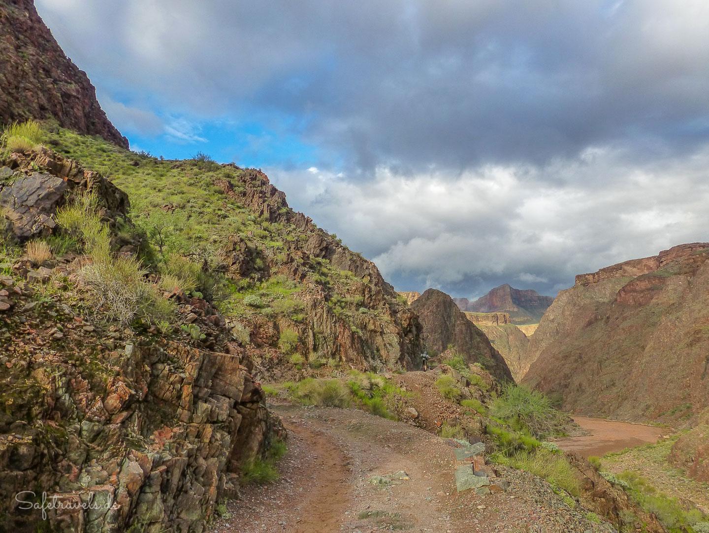 River Trail über dem Colorado River