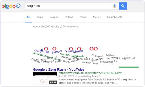 Google Zerk Rush