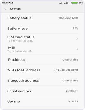 Changed Mac Address