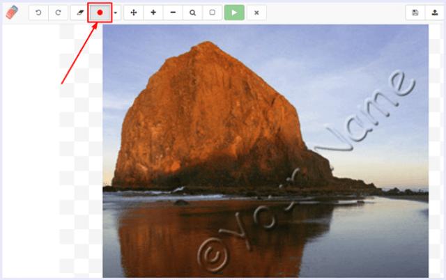 marker tool webinpaint