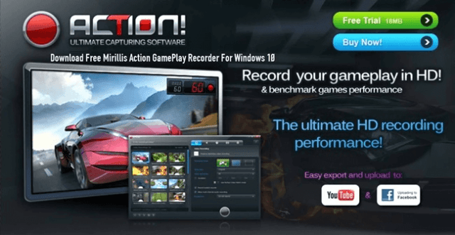 action game recording software