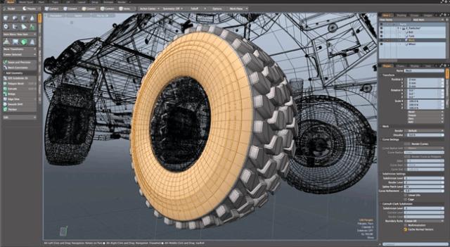 modo animation software