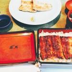 2種類の味を堪能♬うなぎ藤田浜松店さんの蒲焼きと白焼き