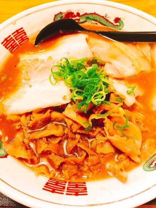 熱烈タンタン麺一番亭の肉バカ醤油ラーメン