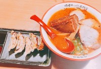 麺屋國丸のサムライラーメンと餃子