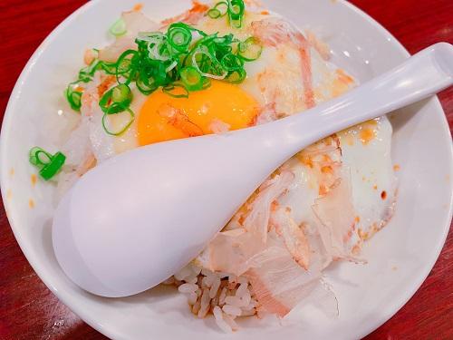 ラーメンミナミ十字星の焼豚玉子飯