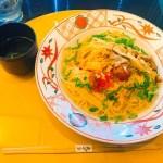京都でパスタ?絶対!美味いやつw「3種のきのこと雲丹といくらの白醤油仕立て」