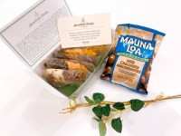 ハワイ土産のマカダミアナッツとクッキー