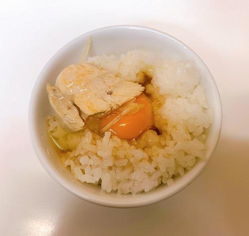 ラーメン東大本店の卵かけご飯