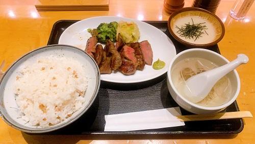 仙台牛たん 荒 羽田空港店の牛たん定食