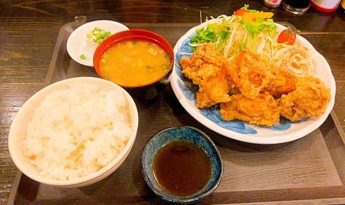 姫路からあげ本舗の姫路からあげ定食