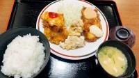 竹田丸福のミックス定食
