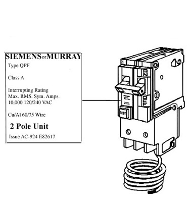 Safety Recalls, GFCI Circuit Breakers Recalled by Siemens