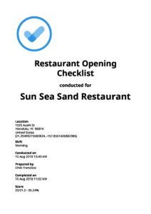 Restaurant Checklists: 5 Essential [FREE DOWNLOAD]