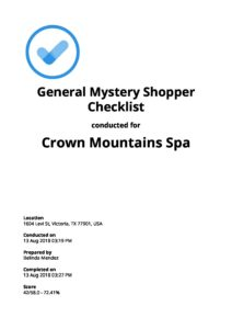 Mystery Shopper Checklists: Top 5 [Free Download]