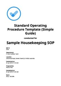 Standard Operating Procedure (SOP) Templates: Top 3 [Free
