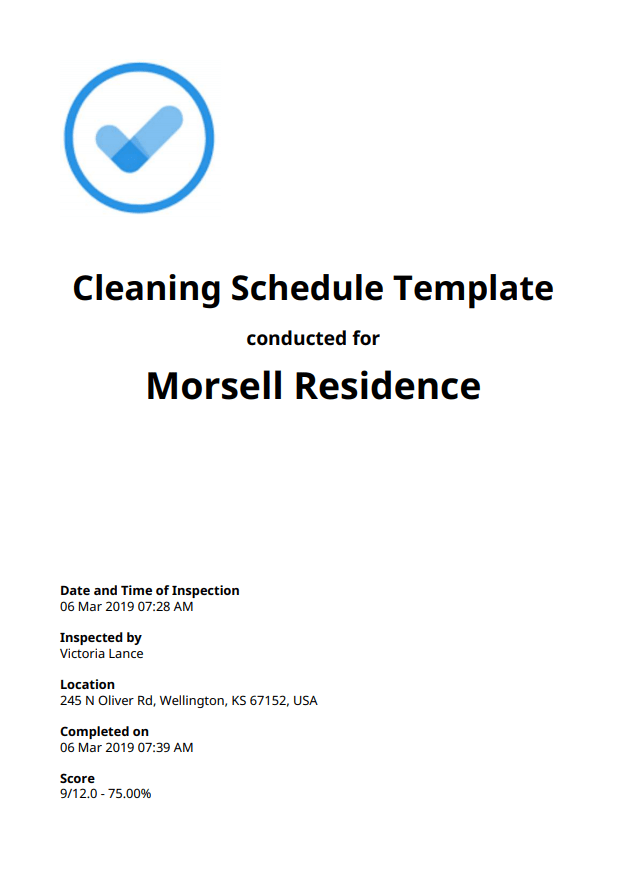 Cleaning Schedule Checklist: Top 12 [Free Download]