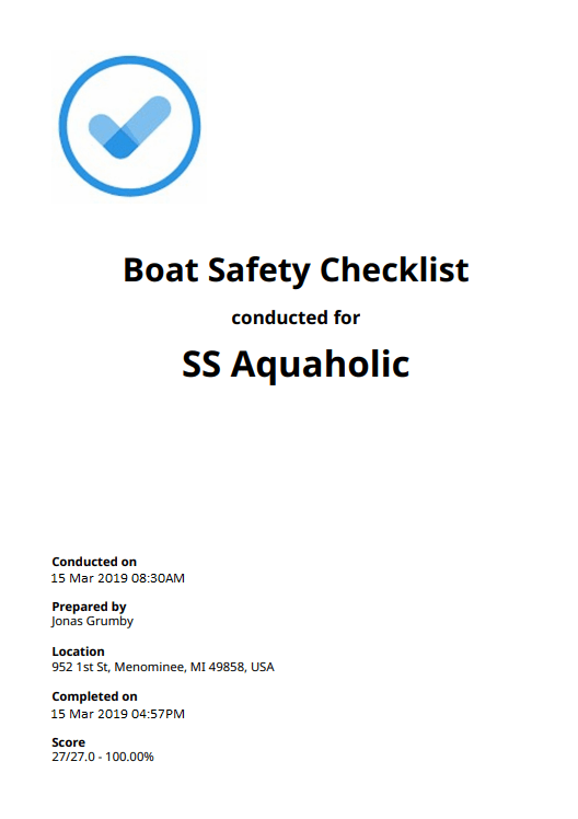 Boat Checklists: Top 3 [Free Download]