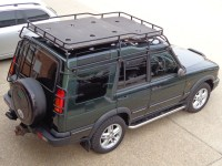Land Rover Discovery 2 Ladder | Car Interior Design