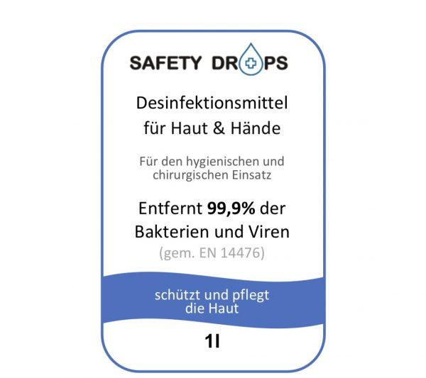 Safetydrops Label 6 Label 10