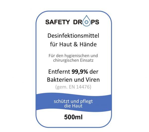 Safetydrops Label 6 Label 15