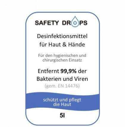 Safetydrops Label 6