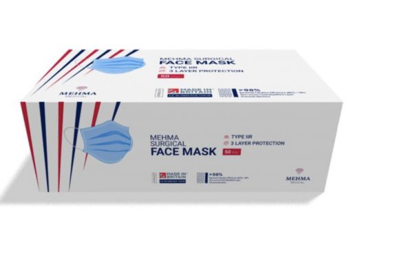 Mehma Face Mask Packung