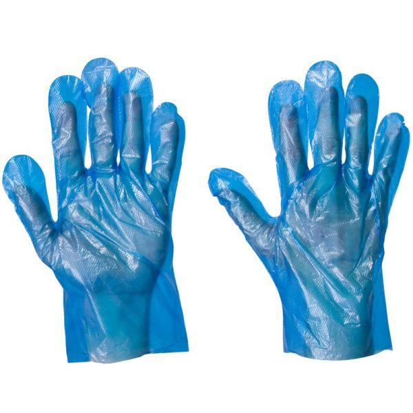 Blue Disposable Gloves