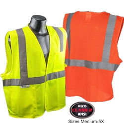Class 2 Safety Vest Blank