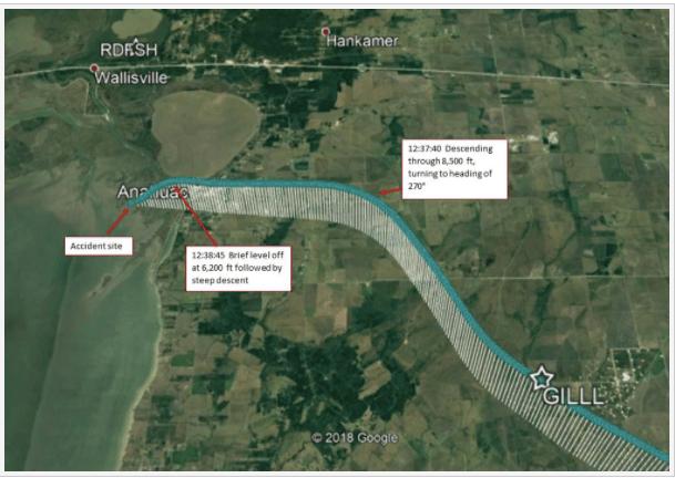 Atlas Air flight path