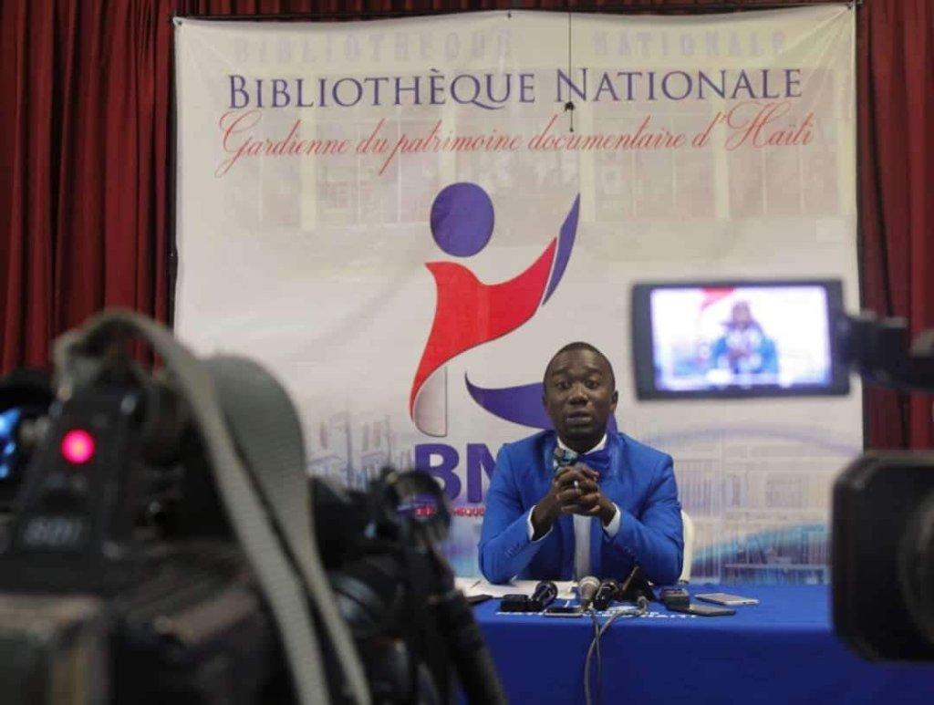 les 100 premiers jours: de Dangelo Neard à la tête de la Bibliothèque Nationale d'Haïti