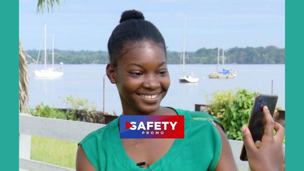 Une jeune haïtienne brille au bac français