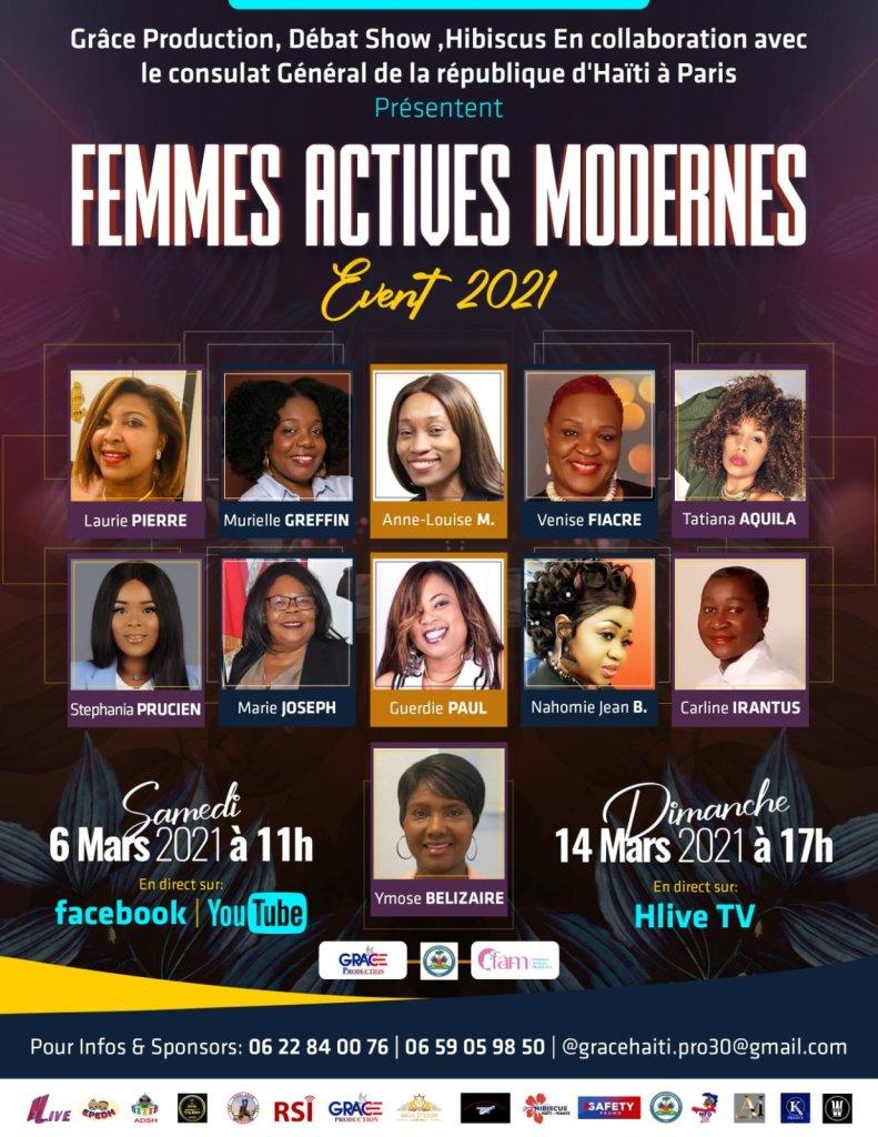 France : Les femmes haïtiennes à l'honneur